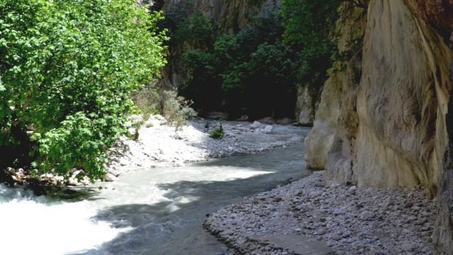 Der Kick im Canyon: Zu Fuß durch die Saklikent-Schlucht
