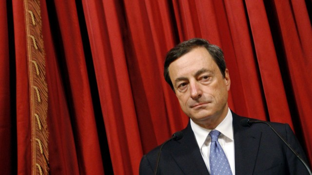 Italy's Central bank governor Draghi leads the annual assembly of Bank of Italy in Rome