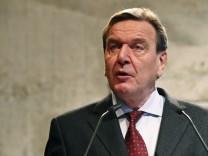 Schroeder will 'Agenda 2030'