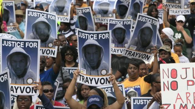 Trayvon Martin Afroamerikaner nach Tod von Trayvon Martin