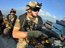 Marine-Soldaten in Dschibuti