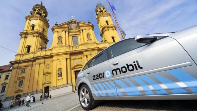 ZebraMobil Auto in München, 2011
