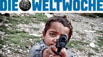 Cover der Weltwoche zu Roma.
