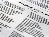 Günter Grass kritisiert israelische Politik