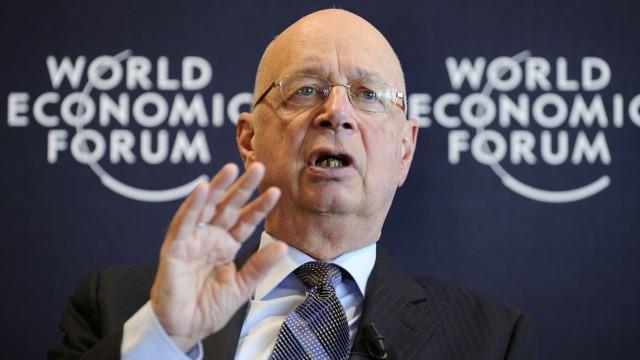 """Kapitalismus """"World Economic Forum"""" in Davos"""