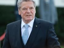 Bundespräsident Joachim Gauck Israel Schloss Bellevue