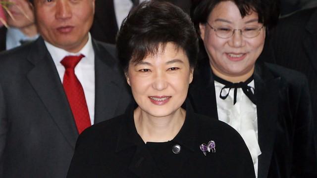 Park Geun Hye nach dem überraschenden Wahlsieg der Regierungspartei