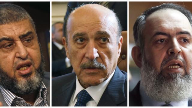 Chairat al Schater, Omar Suleiman und Hazem Salah Abu Ismail