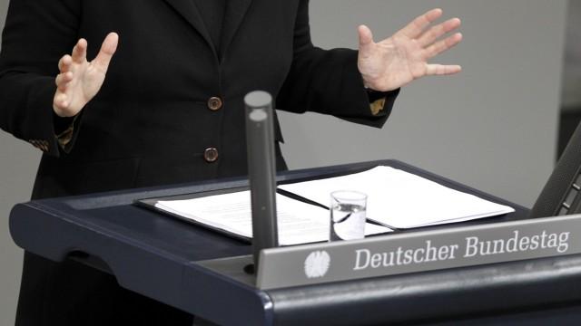 """Verwirrung um ´Maulkorb"""" für Abweichler im Bundestag"""