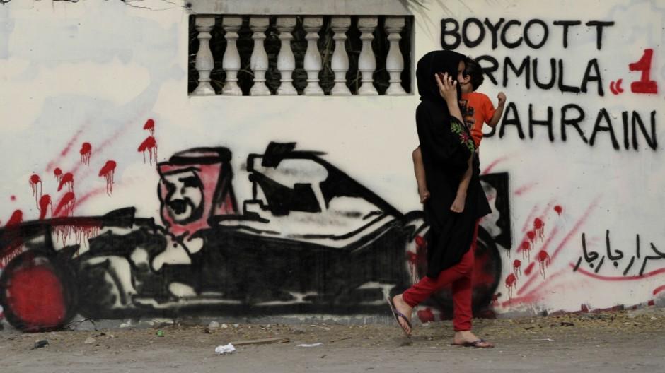 Britischer Politiker fuer Absage des Formel-1-Rennens in Bahrain
