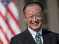 Jim Yong Kim, Kandidat für Weltbank