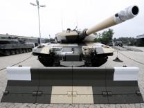 Leopard Panzer Rüstungsexport nach Katar