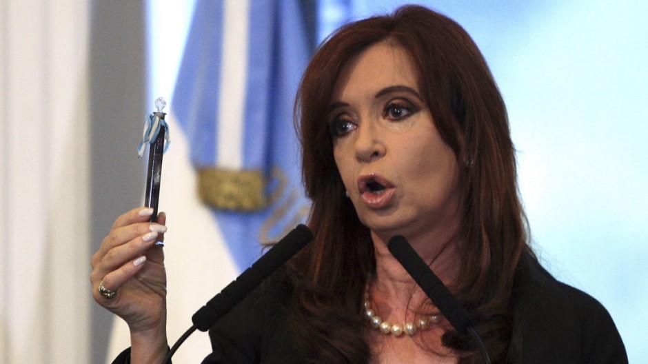 Argentinien Fernandez de Kirchner Öl YPF Repsol
