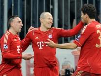 Ribery, Robben und Gomez