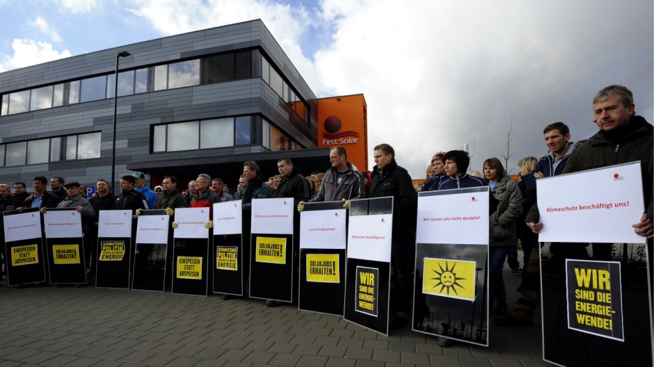 Solarkrise: Brandenburg kritisiert Bundesregierung