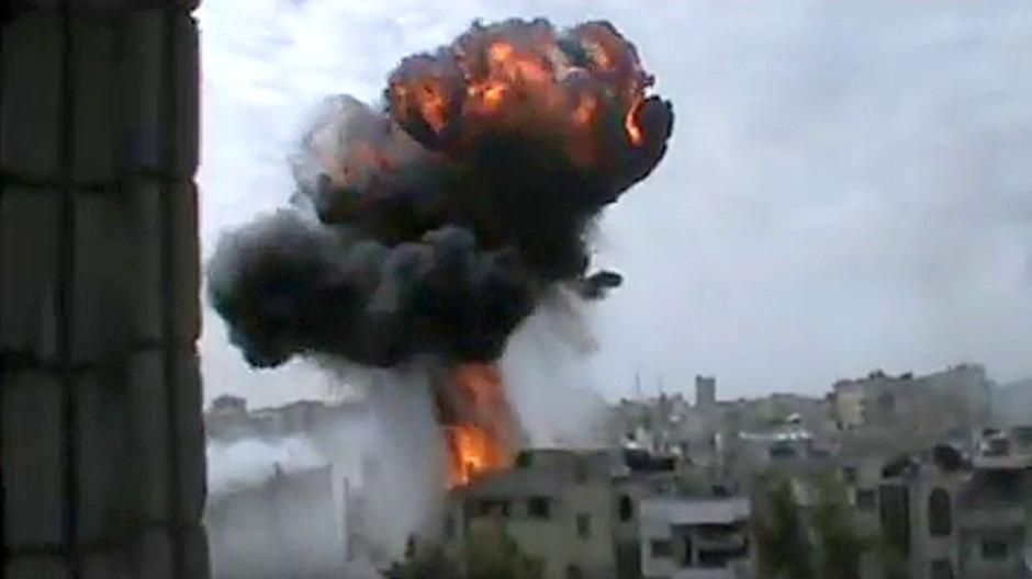 Trotz Waffenruhe: In Syrien gehen die Gefechte weiter.