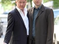 Der Ehrenpreis des Bayerischen Fernsehpreises geht 2012 an das Tatort-Duo Udo Wachtveitl und Miroslav Nemec