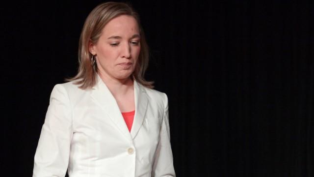 Familienministerin Schroeder stellt ihr Buch vor