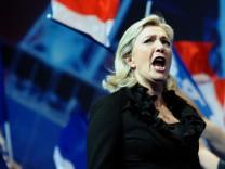 FN-Vorsitzende Marine Le Pen