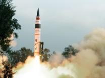 Indien testet atomwaffenfähige Langstreckenrakete