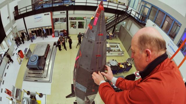 Vorstellung Raumfahrzeug Shefex II