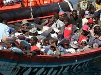 Afrikanische Bootsflüchtlinge auf Teneriffa angekommen