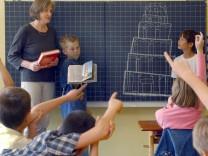 Unterricht in einer Grundschule