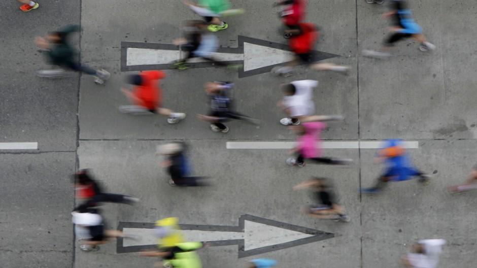 Marathonläufer: Tipps für Lauf-Anfänger