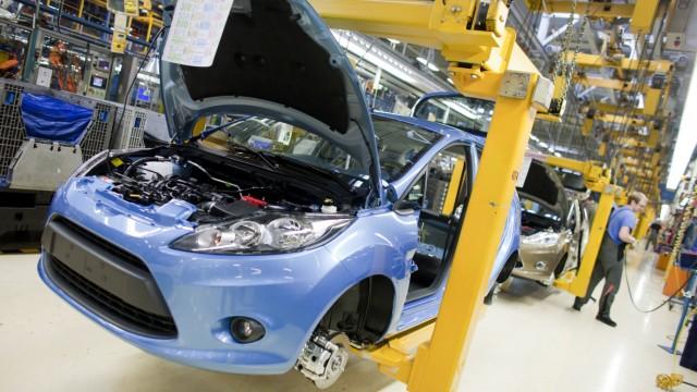 Produktion Ford Fiesta
