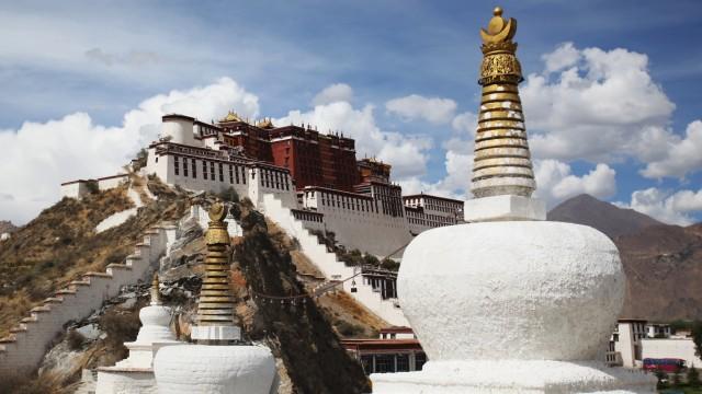 Tibet Lhasa Potala-Palast