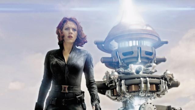 The Avengers, Scarlett Johansson, im Kino