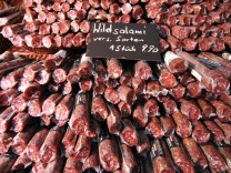 Salamitheke Salami Wurst