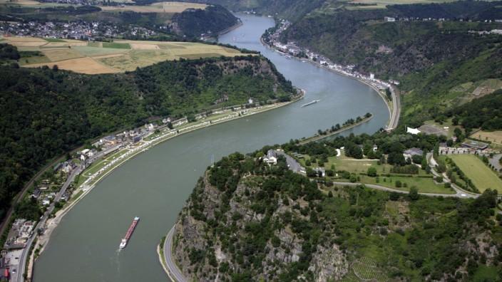 Loreley-Felsen im Mittelrheintal