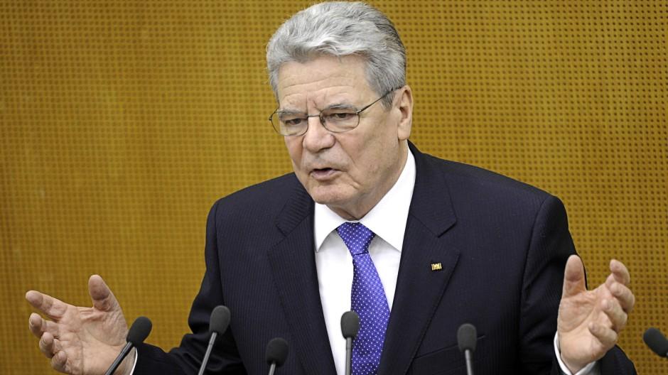 Bundespraesident besucht Baden-Wuerttemberg
