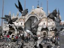 Italien Sehenswürdigkeiten Verbot Venedig Markusplatz
