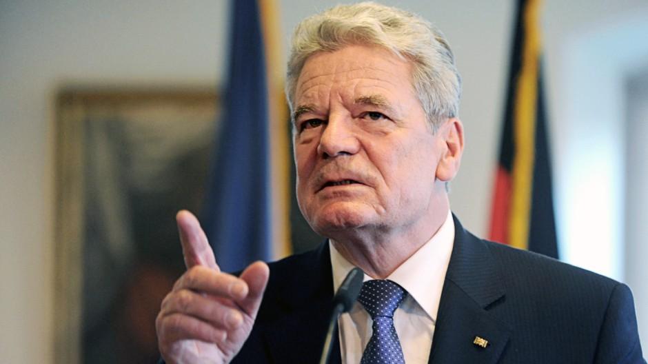 Bundespräsident Joachim Gauck besucht Baden-Württemberg