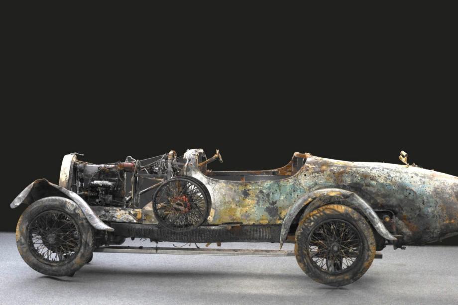 1925er Bugatti-Wrack wird versteigert
