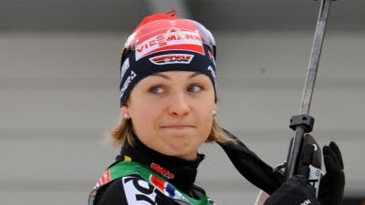 Wintersport Biathlon: Magdalena Neuner