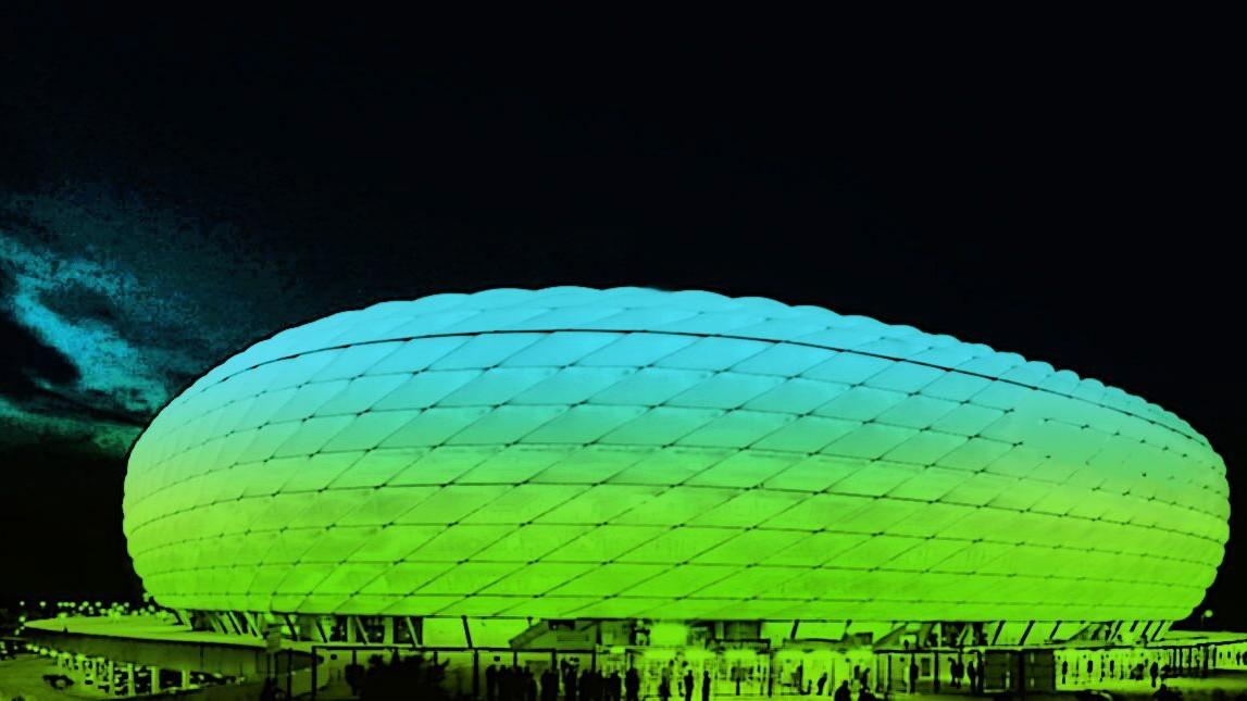 München: Allianz-Arena bekommt neue Farbe - München - Süddeutsche.de