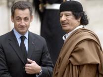 Sarkozy will wegen Gaddafi-Gerüchten Anzeige erstatten