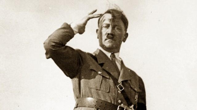 AAdolf Hitler als Redner auf dem Reichsparteitag 1937