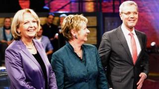NRW-Spitzenkandidaten diskutieren bei TV-Runde 'Wahlarena 2012'