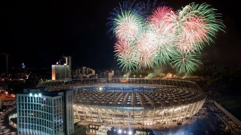 Kiev UEFA EURO 2012 host city stadium