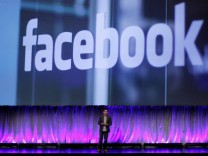 Facebook Vice President of Product Cox delivers a keynote address at Facebook's 'fMC' global event for marketers in New York City