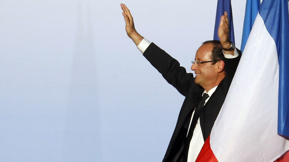 Hat gute Chancen, Staatschef Frankreichs zu werden: Francois Hollande.