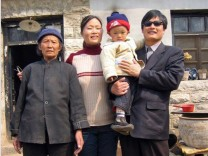 Chen Guangcheng mit Familie