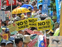 Japan Antiatomkraft-Demonstration