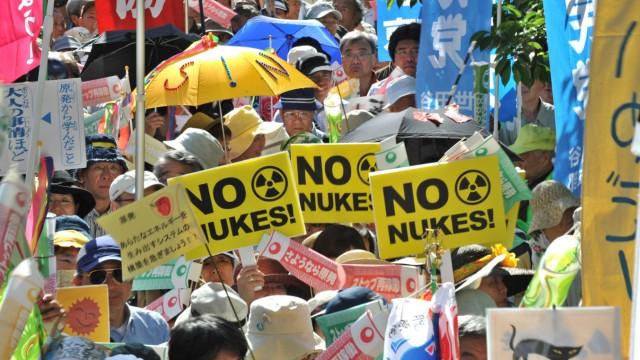 Japan Antiatomkraft-Demonstration