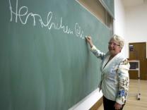 Bundesbildungsministerin Schavan besucht Universitaet Muenster