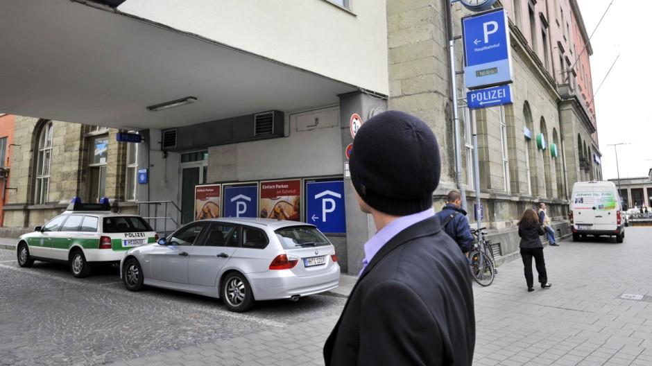 Polizei-Kontrollen Münchner Polizei